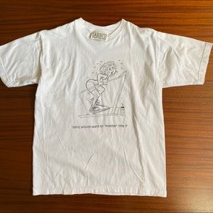 Vintage Areo Graphic Tee, Size M